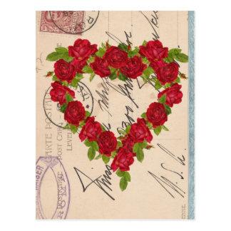 Rose Postcard Collage