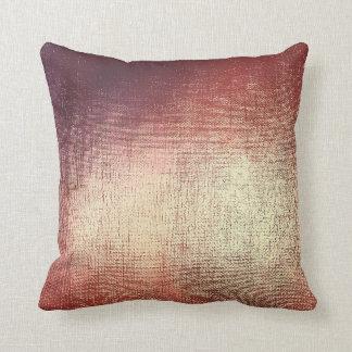 Rose Powder Gold Glam Brush Metallic Pillow