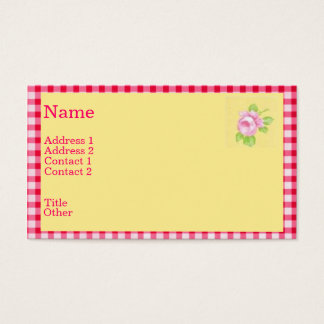 Rose Profile Card