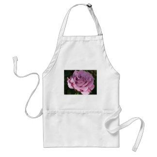 rose,purple adult apron