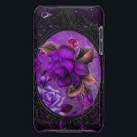 "Rose Purple iPod Touch Case<br><div class=""desc"">A stunning purple and black design iPod Touch Barely There</div>"