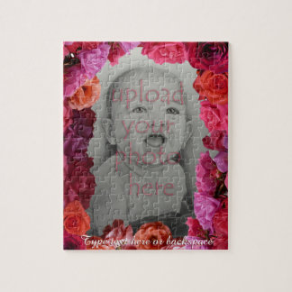 Rose Puzzle Personalized Photo Roses Puzzles