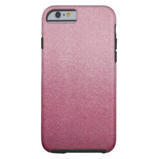 Rose Quartz and Radiant Orchid Glitter Sand Ombre Tough iPhone 6 Case