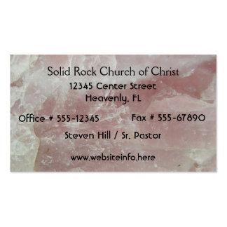 Rose Quartz Church Business Cards
