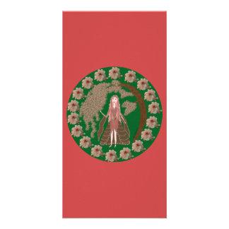 Rose Quartz Faerie Card