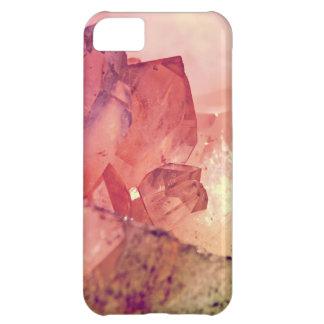 rose quartz iPhone 5C case