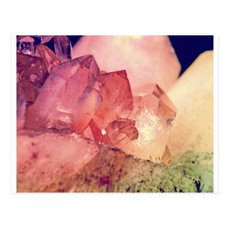 rose quartz postcard