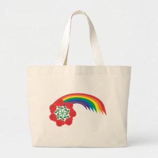 Rose-Rainbow arc Bags