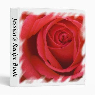 Rose Recipe Binder