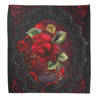 Rose Red Bandana