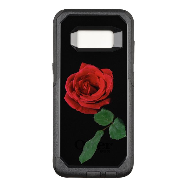 Rose Red Garden Flower OtterBox Galaxy S8 Case