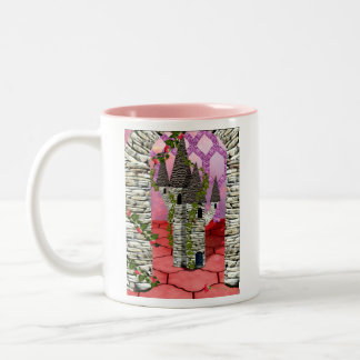 Rose red in Summer Coffee Mug