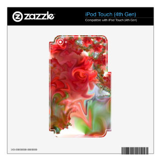 Rose Red.JPG iPod Touch 4G Skin