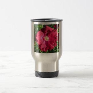Rose Red Open Travel Mug