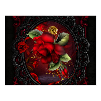 Rose Red Postcard