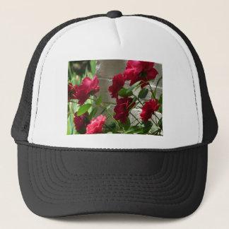 rose,red rose trucker hat