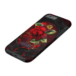 Rose Red Tough iPhone 6 Case