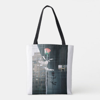Rose Reflection Tote Bag