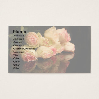 Rose Reflections Business Card