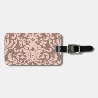 Rose Renaissance pattern Luggage Tags