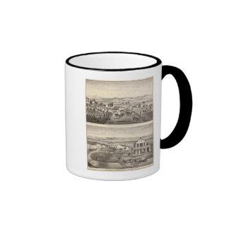 Rose res, Warm Spring Landing Ringer Mug