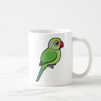 Rose-ringed Parakeet Classic White Coffee Mug