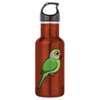 Rose-ringed Parakeet 18oz Water Bottle