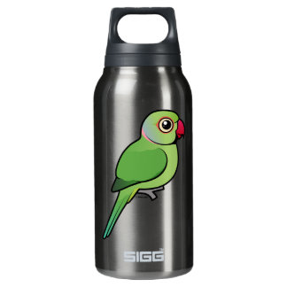 Rose-ringed Parakeet 10 Oz Insulated SIGG Thermos Water Bottle