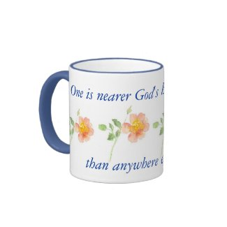 Rose Ringer Mug mug