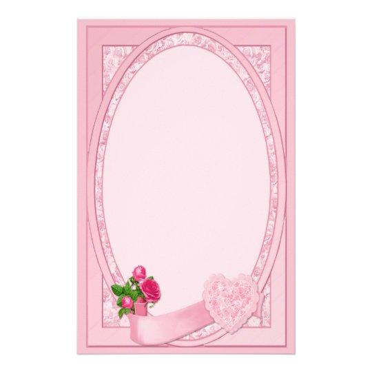 Rose Romance - Stationery