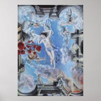 rose rosen de roses imprimes print poster angel en
