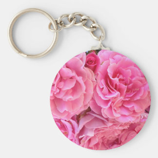 Rose Roses by Carolina Ramos Ferrer Keychain