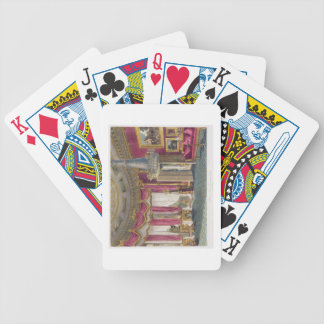 Rose Satin Drawing Room (second view) Carlton Hous Bicycle Playing Cards