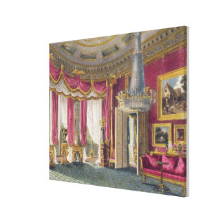 Rose Satin Drawing Room (second view) Carlton Hous Canvas Print