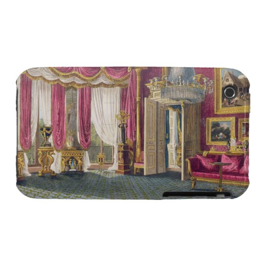 Rose Satin Drawing Room (second view) Carlton Hous iPhone 3 Case-Mate Case