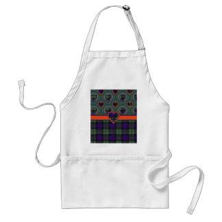 Rose Scottish clan tartan - Plaid Adult Apron