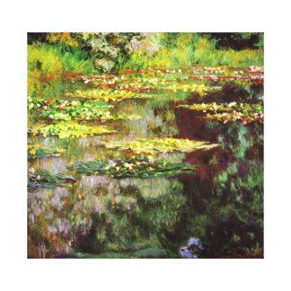 Rose Sea Garden Monet Fine Art Canvas Print
