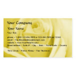 Rose - Serene Yellow- business card template