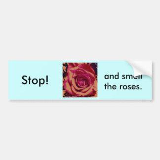 Rose Series Car Bumper Sticker