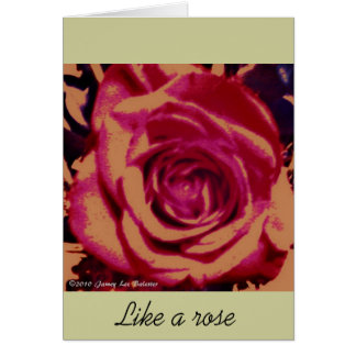 Rose Series Greeting Card