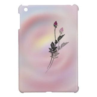 Rose shadow iPad mini case