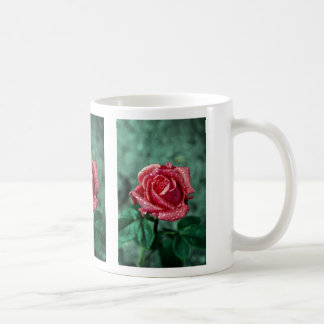 Rose Shropshire Garden after rain Coffee Mug