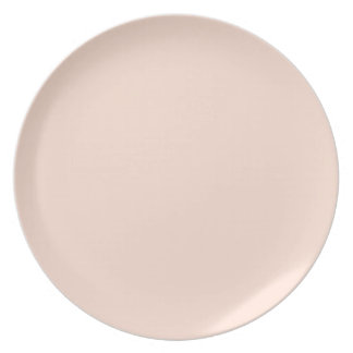 Rose Smoke Background. Chic Fashion Color Trend. Dinner Plates