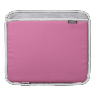 Rose Solid Color iPad Sleeve