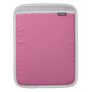 Rose Solid Color Sleeve For iPads