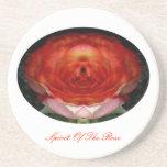 Rose-Spirit ... (Sandstein Untersetzer)