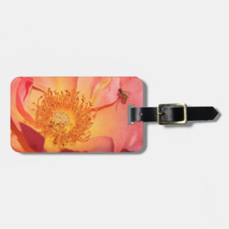 Rose Stamen and Fly Luggage Tag
