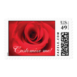 rose stamp, Customize me! Postage