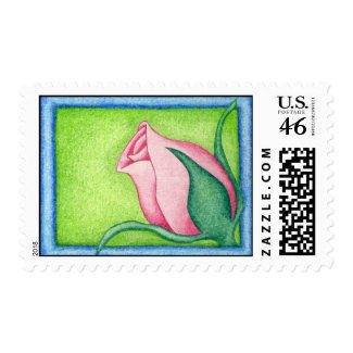 Rose Stamp stamp