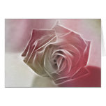 Rose - Subdued Red Greeting Cards